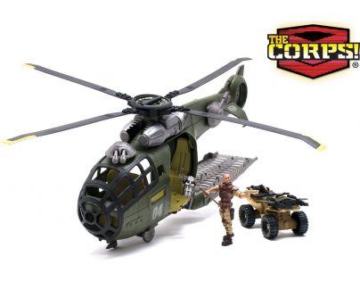Lanard Vojenský vrtulník 47 cm