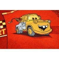 Vopi Cars koberec červený 133 x 165 cm 5