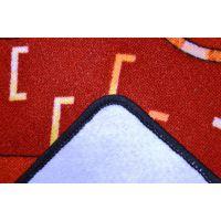 Vopi Cars koberec červený 200 x 200 cm 2