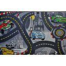 Vopi Cars koberec šedý 140 x 200 cm 2
