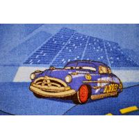 Vopi Cars koberec modrý 140 x 200 cm 6