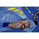 Vopi Cars koberec modrý 200 x 200 cm 4