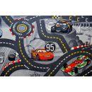 Vopi Cars koberec šedý 200 x 200 cm 4