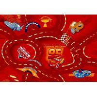 Vopi Cars koberec World of Cars červený 95 x 200 cm