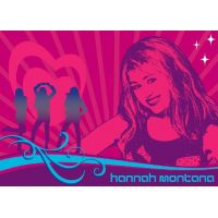 Vopi Hannah Montana Rock Sensation koberec 95 x 133 cm
