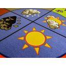 Vopi koberec Roční období průměr 200 cm 4