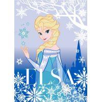 Vopi Ledové království Koberec Elsa 95 x 133 cm