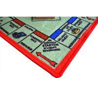 Vopi Monopoly koberec s figurkami 92 x 92 cm 3
