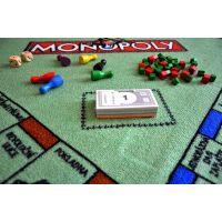 Vopi Monopoly koberec s figurkami 92 x 92 cm 5