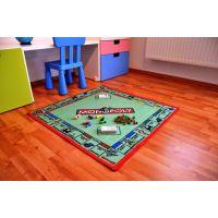 Vopi Monopoly koberec s figurkami 92 x 92 cm 6