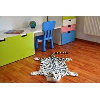 Vopi Předložka Tygr 3D bílý 50 x 85 cm 5