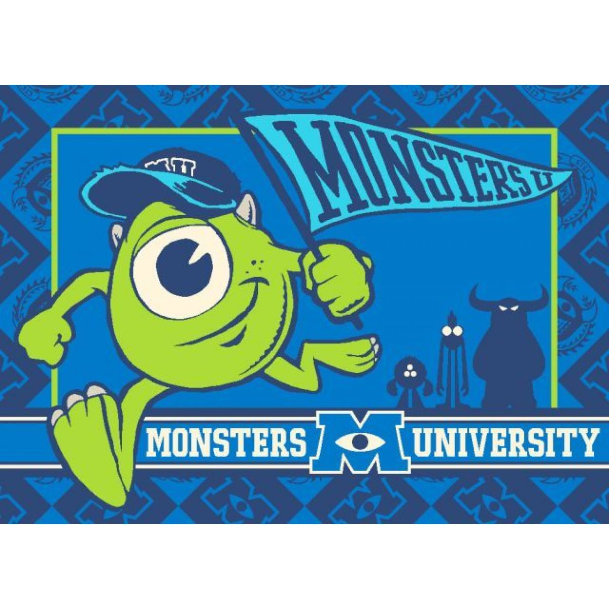 Vopi Příšerky s.r.o. Dětský koberec Monsters University 295 x 133 cm