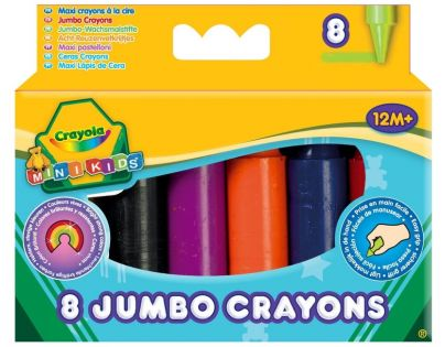Crayola Mini Kids Voskovky 8ks