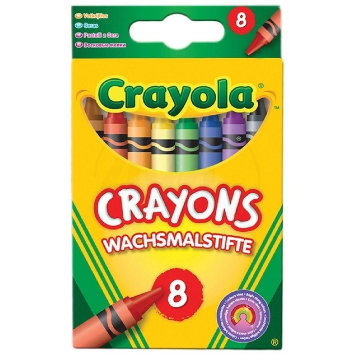 Crayola Voskovky 8ks