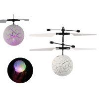 Mustar Vrtulníková koule s měnícím LED světlem