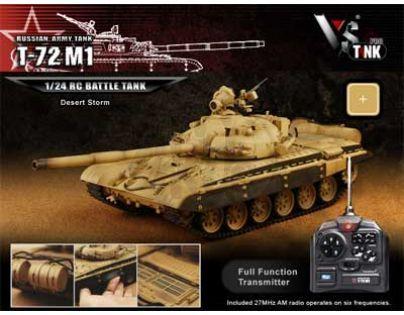 VsTank RC Tank PRO Airsoft Russian T72 M1 Desert