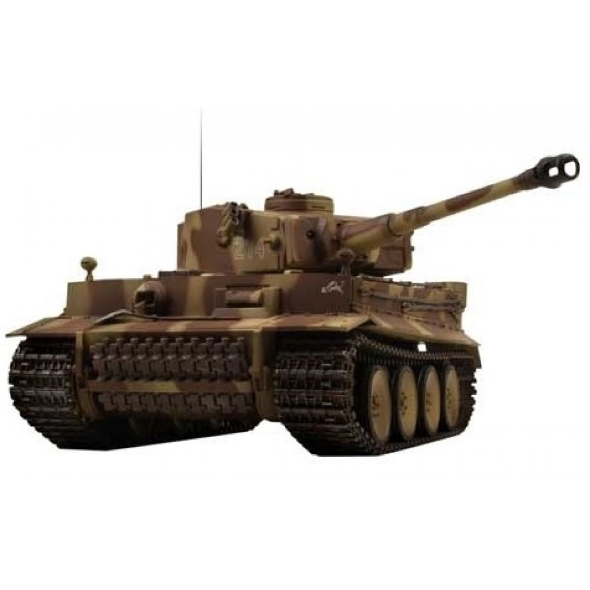 VsTank RC Tank Airsoft German Tiger I (E) Brown
