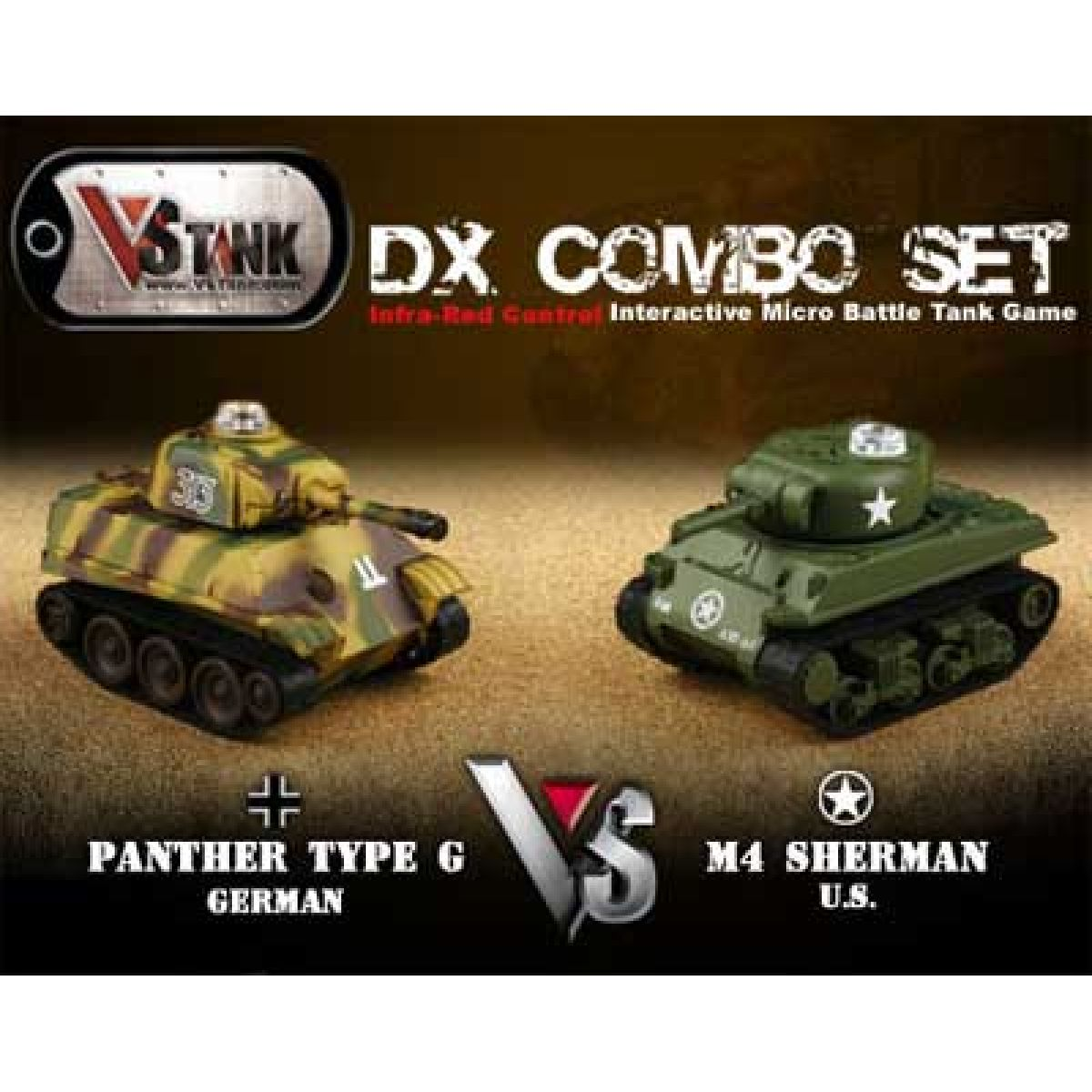 VsTank V4 Double Panther vs. US Sherman