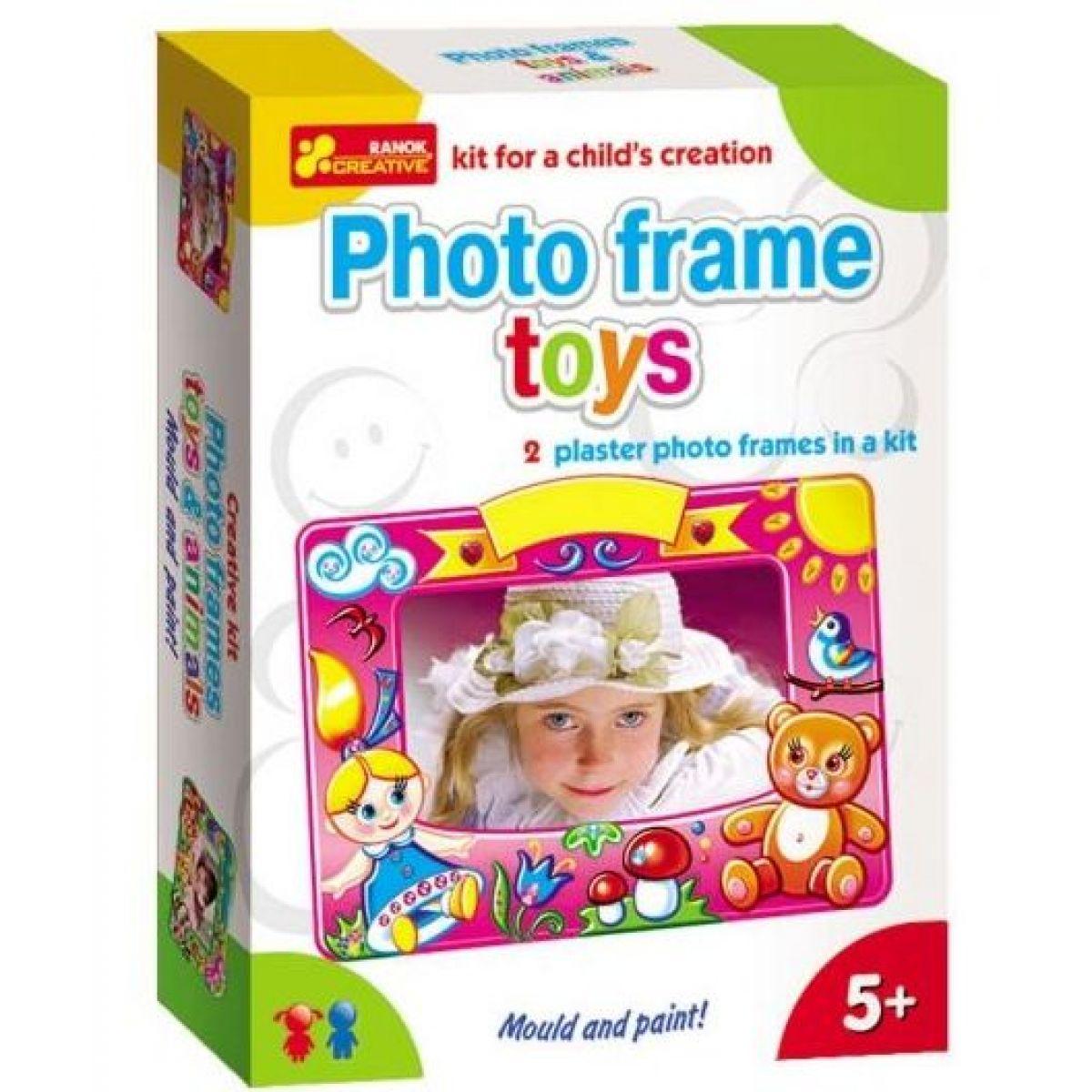 Výroba fotorámečku Hračky a zvířátka