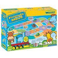 WADER 54010 - Silnice pro děti 4,3 m 4