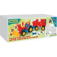 WADER 66300 - Gigant nakladač s vlečkou 3
