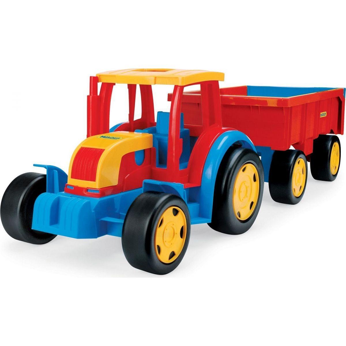 Wader velký traktor s valníkem kids