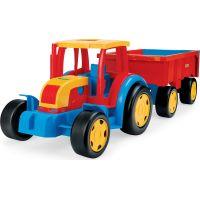 WADER 66100 - Velký traktor s valníkem