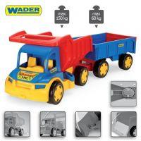 Wader Gigant Truck s vlečkou 2