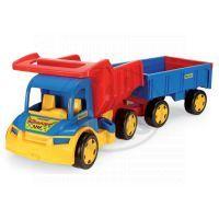 Wader 65100 - Auto gigant truck + dětská vlečka