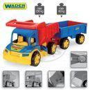 Wader 65100 - Auto gigant truck + dětská vlečka 2