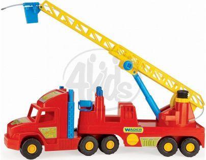WADER 36570 - Auto Super Truck hasiči plast 77cm