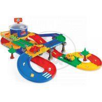 WADER 53130 - KID CARS 3D - Garáž 2 patra s cestou 5,5m