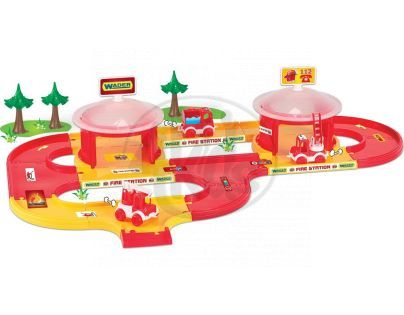 WADER 53310 - Kid cars 3D - hasiči