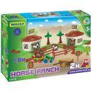 Wader 53410 - Kid Cars 3D - koňský ranč 2