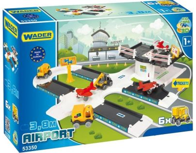 Wader Kid Cars 3D Letiště 3,8 m