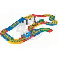 WADER 51711 - Kid Cars - Železnice s městem 4,1m