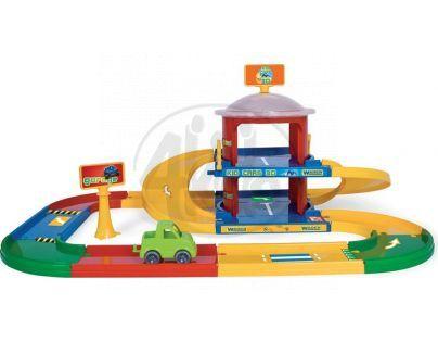 WADER 53020 - Garáž Kid cars 3D 2 patra 3,4 m