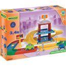 WADER 53020 - Garáž Kid cars 3D 2 patra 3,4 m 2