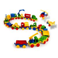 Wader Kid car plast 10 cm