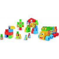 Wader Kostky stavebnice Middle Blocks plast 70 ks