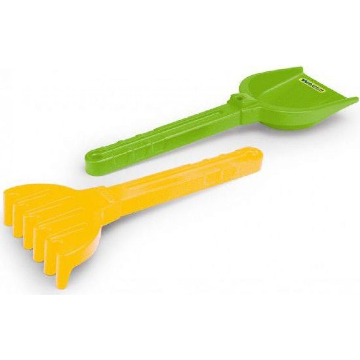 Wader 71120 Lopatka a hrábě velké zeleno - žluté