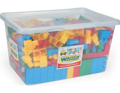Wader 80152 - Kostky stavebnice Middle  Block 240ks v boxu