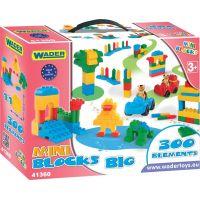 WADER 41360 - Kostky Mini Blocks 300 dílků