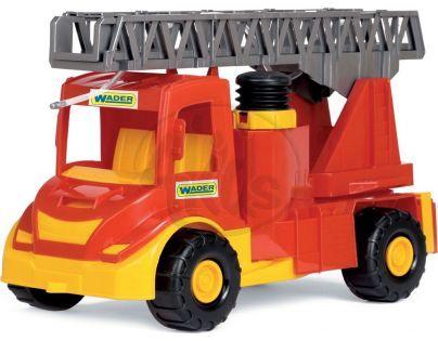 WADER 32170 - Auto multitruck hasiči plast 43cm