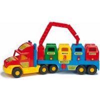 Wader 36530 - Auto Super Truck popelářský vůz
