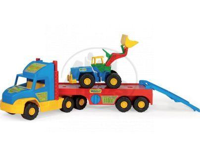 Wader 36520 - Auto Super Truck - přeprava nakladače (75 cm)
