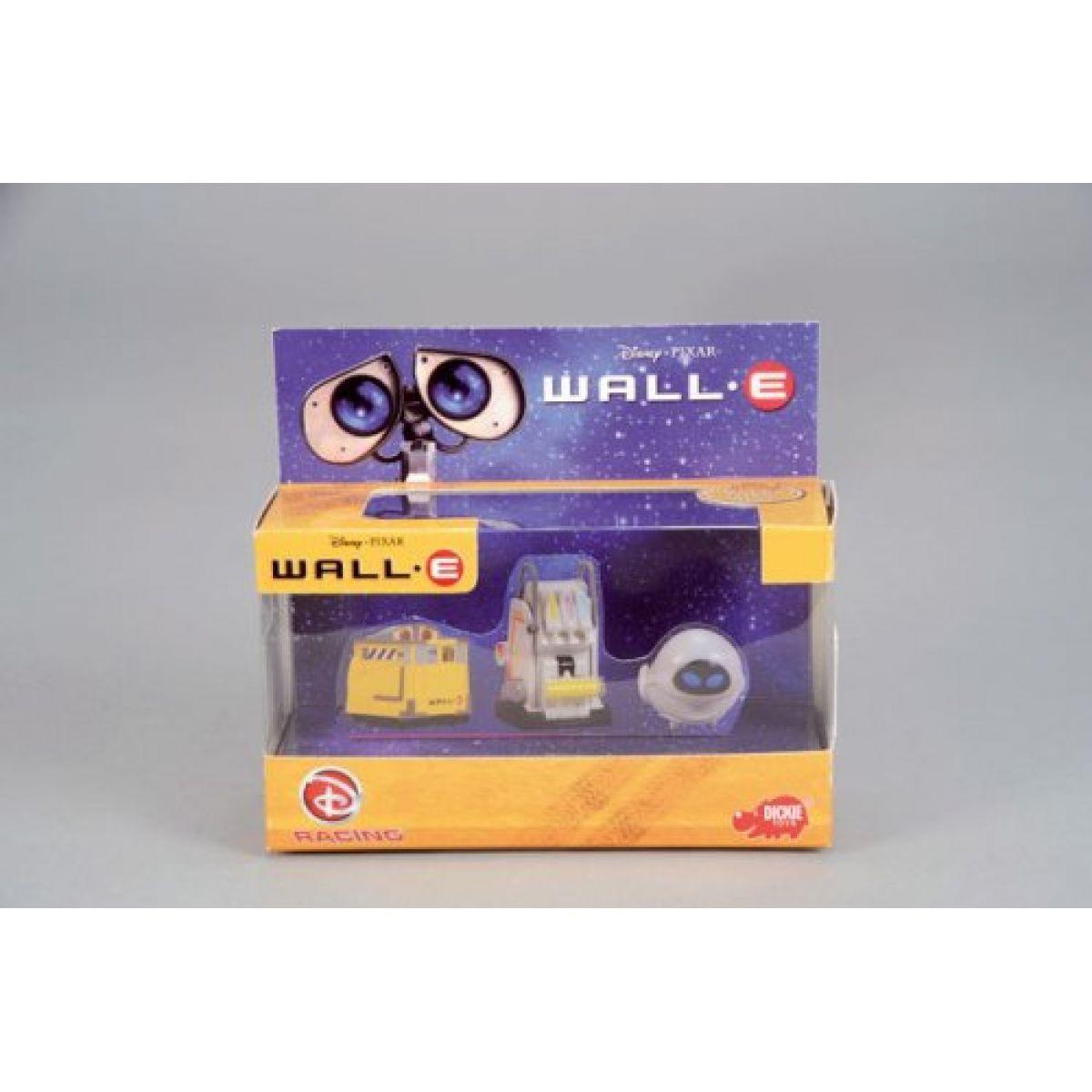 Wall-E autíčka 3kusy