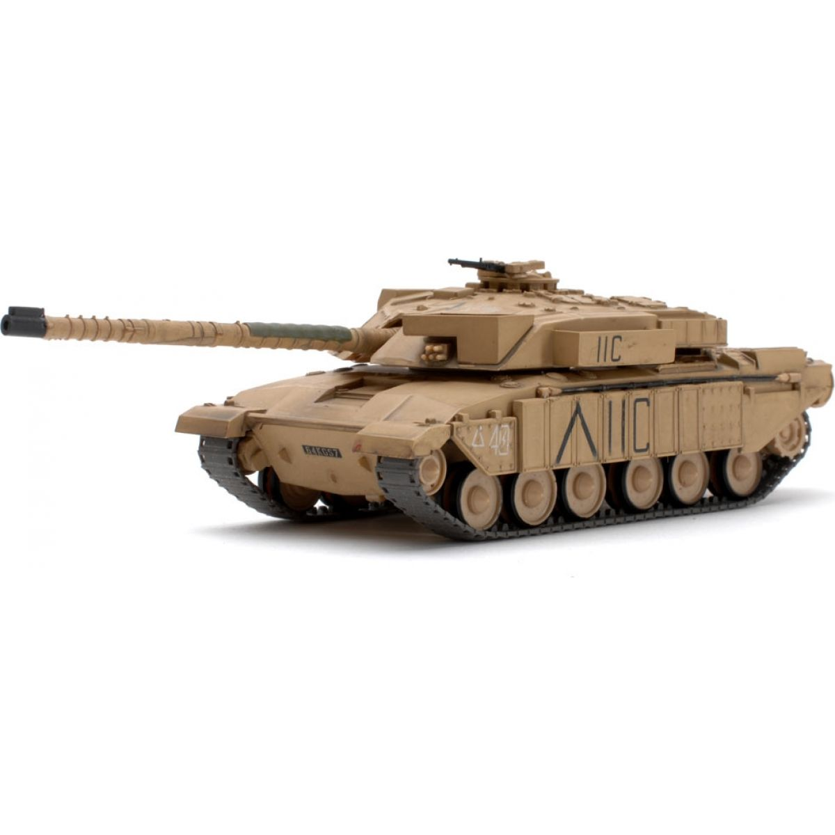 Waltersons RC Tank British MBT Challenger 1 Desert Yell 1:72