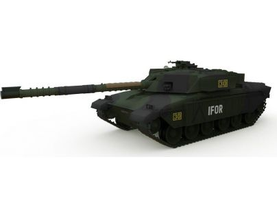 Waltersons RC Tank British MBT Challenger 1 Forest 1:72