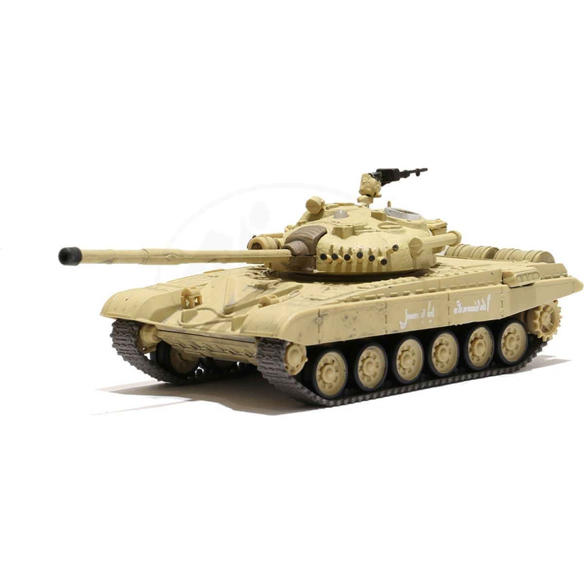 Waltersons RC Tank Russian T-72 M1 Desert Yellow 1:72